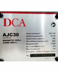 Máy khoan từ 30mm DCA AJC30