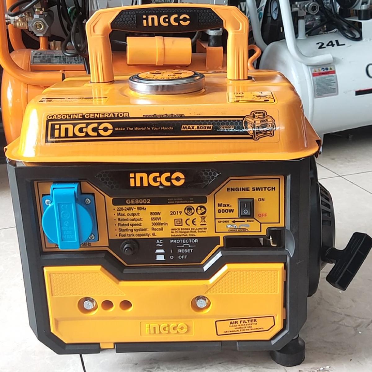 Máy phát điện Ingco GE8002 | Quản lý chi phí xây dựng, Quản lý thi công xây dựng, Quản lý dự án xây dựng