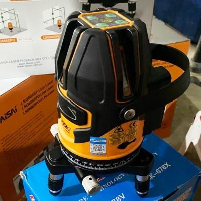 Máy cân mực laser 5 tia xanh Laisai LSG686