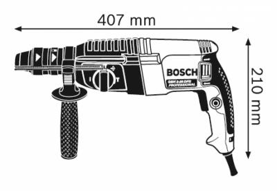 Máy khoan bê tông Bosch GBH 2-26DFR (800W)