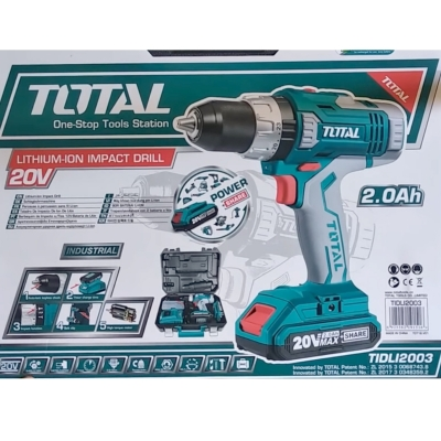 Máy khoan pin 20V Total TIDLI2003