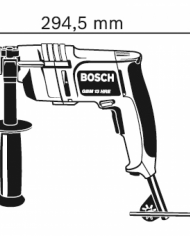 Máy khoan bê tông Bosch 13HRE (550W)