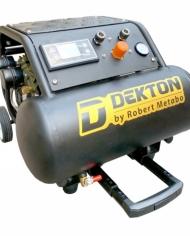 Máy nén khí 15L Dekton DK991 - KHÔNG DẦU - Mô tơ không chổi than