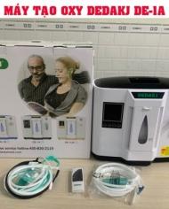 Máy tạo OXY DEDAKJ - Công nghệ Đức - Tặng kèm máy đo nồng độ Oxy trong máu PULSE